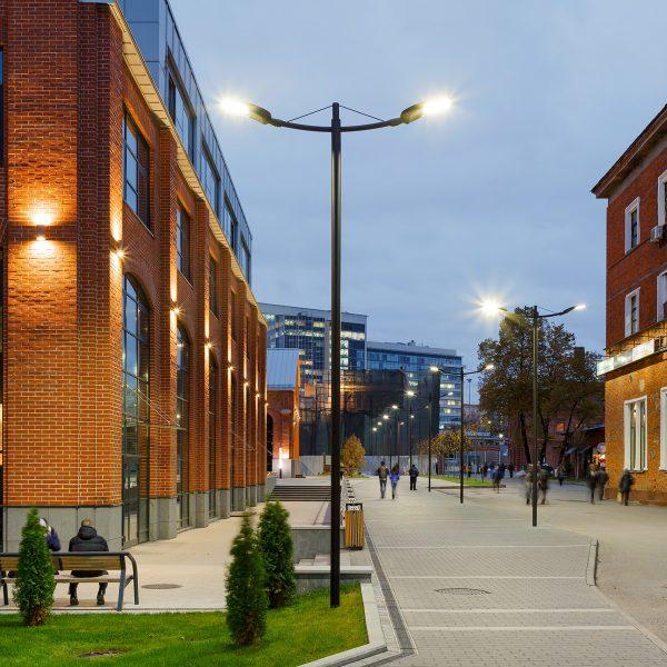 Lâmpadas de rua e iluminação nocturna